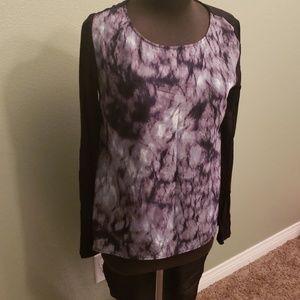 Kardashian tail back tee blouse top